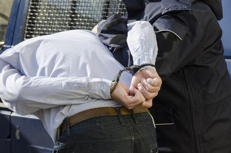La foto mostra l'arresto di un uomo Archivio Fotografico - 27748691