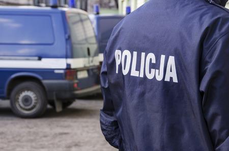 Photo of polish police sign 版權商用圖片