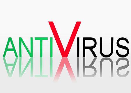 Antivirus photo