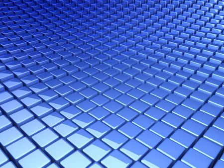 blue boxes background Stock Photo