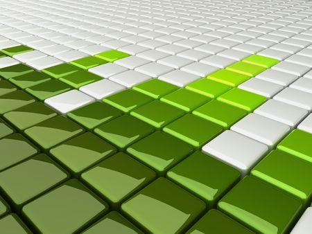 background music boxes green Фото со стока - 6014782