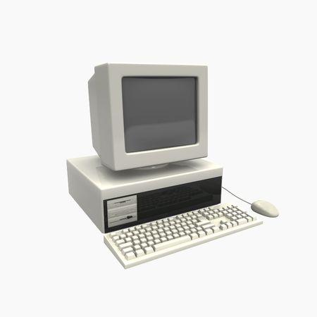 old technology: computer di quarta generazione