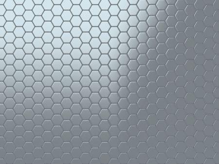 malla metalica: Fondo abstracto con met�licos brillantes de las c�lulas (gris)