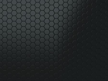 Abstract background with metallic shining cells (black)