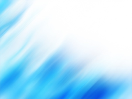 Abstract background with blue aurora waves and copyspace photo