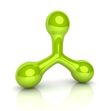 triad: Illustration of design element(smooth triad symbol)
