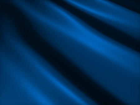 Soft shiny blue metallic background with lines photo