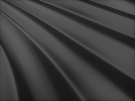 black metallic background: Abstract black metallic background with lines Stock Photo