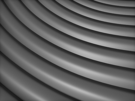 black metallic background: Abstract black metallic background with curve lines