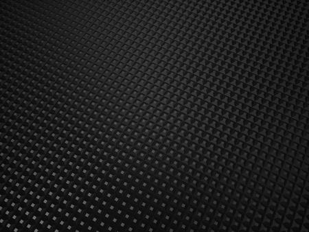 Illustration of black metallic textured background with dots Stock Illustration - 10131519