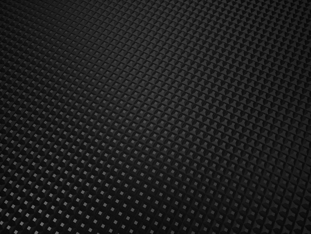 Illustration of black metallic textured background with dots Stock Photo