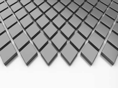 Black reflective background with rhombs and space Stock Photo - 10131496