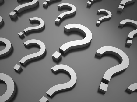 search query: Background with question symbols on black background Stock Photo