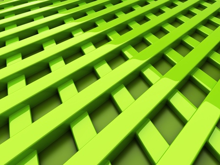 hard cover: Illustration of green frame background with cross bars Stock Photo