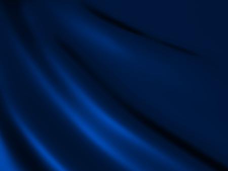 blue silk: Soft blue shiny metallic background with lines Stock Photo
