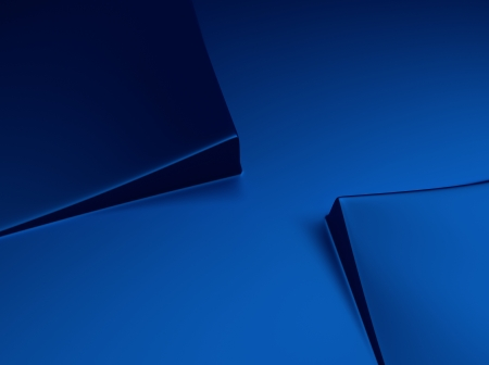 blue metallic background: Elegant blue metallic background with two squares and space for text