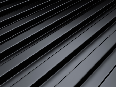 Black industrial metallic background with lines or bars