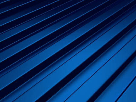 Blue industrial metallic background with lines or bars
