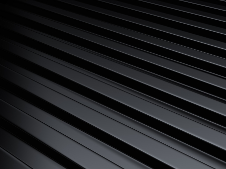 Black industrial metallic background with lines or bars Stock Photo - 18701878