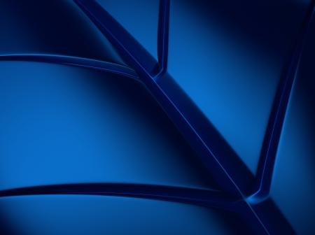 Elegant blue metallic background with leaf shape lines Stock Photo - 18701956