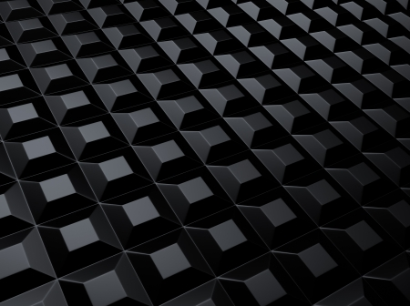 Black industrial metallic background with squares Stock Photo - 18701907