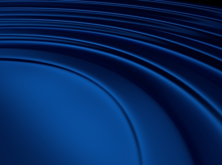 blue metallic background: Elegant blue metallic background with waves and space for text Stock Photo