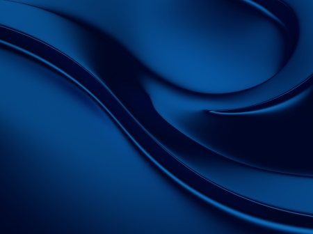 blue metallic background: Elegant blue metallic background with curves and space for text Stock Photo