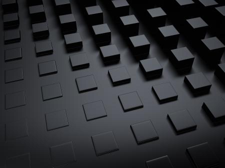 black block: Elegante fondo metálico negro con muchos bares y espacio para texto