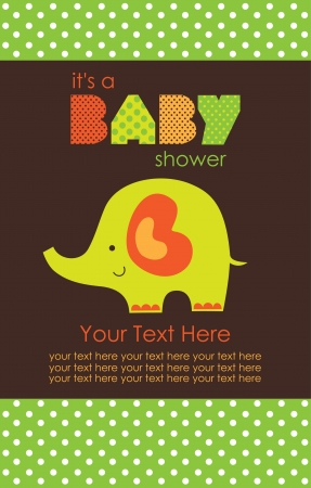 baby shower design. vector illustration Stock Vector - 20560456