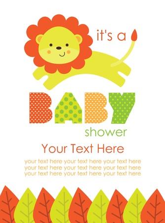 baby boy shower: cute baby shower design. vector illustration