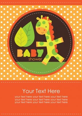 baby shower design. vector illustration Stock Vector - 20560605