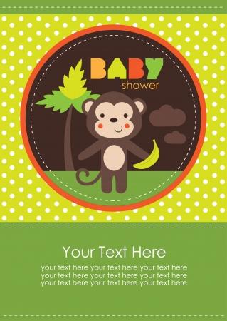 baby shower design. vector illustration Stock Vector - 20560592