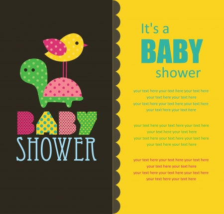 baby shower design. vector illustration Stock Vector - 20562043