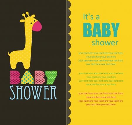 baby shower design. vector illustration Stock Vector - 20562027