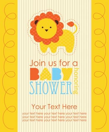 baby shower design. vector illustration Vector