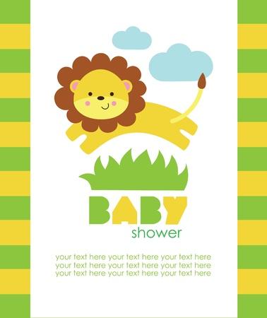 dise?o de la ducha del beb?. ilustraci?n vectorial