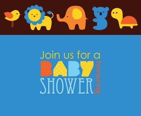 welcome baby: baby shower design. vector illustration Illustration
