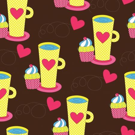 sweet pattern design.vector illustration Vector