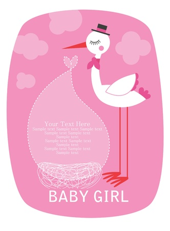 oh baby card design. vector illustration Illustration