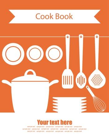 cute kitchen pattern  vector illustration Vector