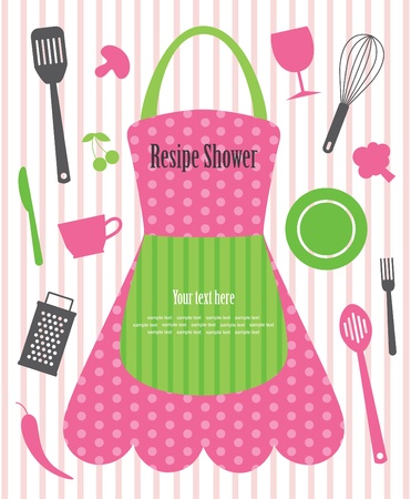 kitchen shower vector illustration Vetores