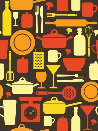 tachuelas: patr�n de dise�o de cocina.