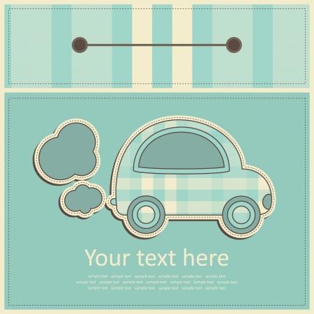 greeting card. vector illustration