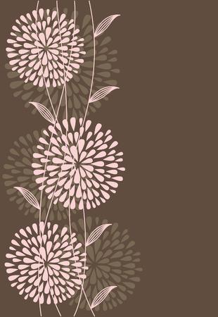 vintage floral background.  Stock Vector - 27403643