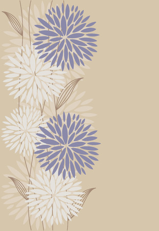 vintage floral background. Stock Vector - 27421946