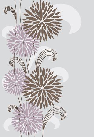 vintage floral background. vector illustration Stock Vector - 27422081