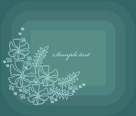 jointless: abstract floral background. vector illustration
