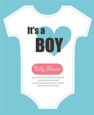 cute baby shower design.