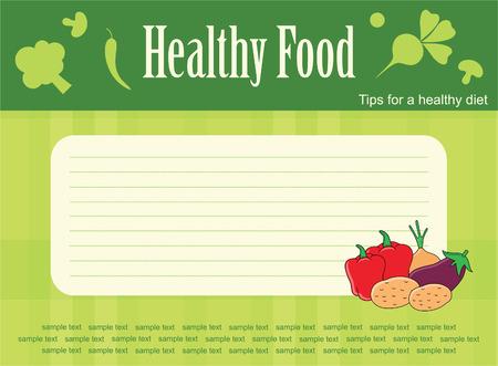 readymade: cute recipe label. vector illustration Illustration