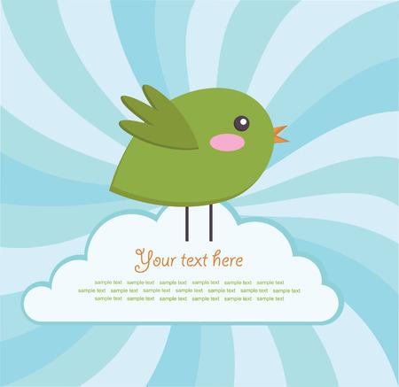 bard: cute bird bard design.